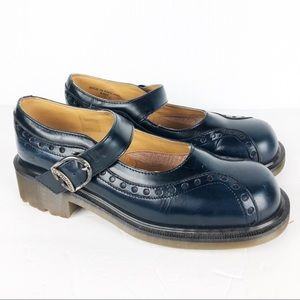 Dr. Martens   Navy Blue Mary Janes